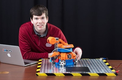 Building a 'Swarm' of 3D-Printing Robots