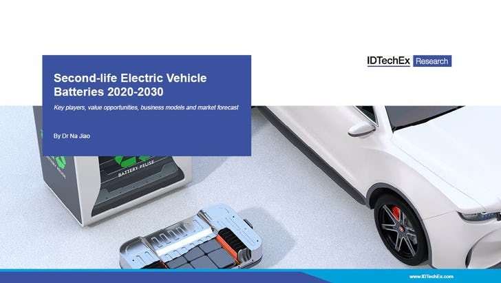 Second-life Electric Vehicle Batteries 2020-2030
