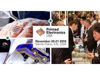 End User Presentations at World's Largest Event on Printed Electronics