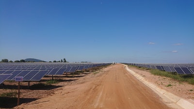 First large scale solar power plant in Mozambique