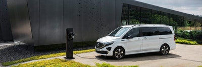Mercedes-Benz EQV:  first fully-electric premium MPV