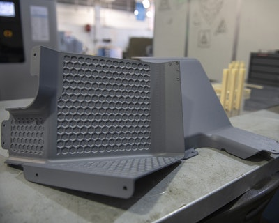 US Airforce produces first certified 3D printed aircraft parts