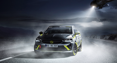 Opel - first carmaker to present electric rally car