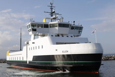 World's largest electric ferry completes maiden voyage