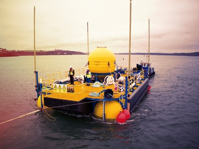 £12.8M in EU funding for wave power project