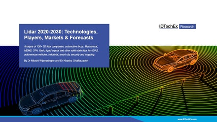 Lidar 2020-2030: Technologies, Players, Markets & Forecasts