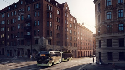 Volvo Buses launches new electric articulated bus