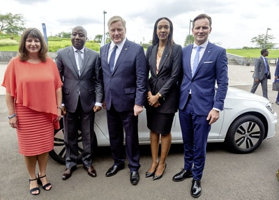 Rwanda Becomes the First African Country to Introduce a Volkswagen EV