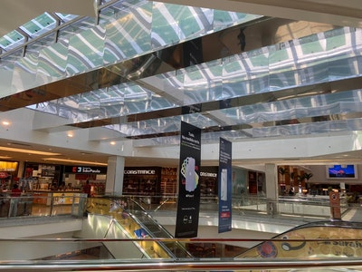 Third Generation Solar Energy Used For the first time in Brazil mall