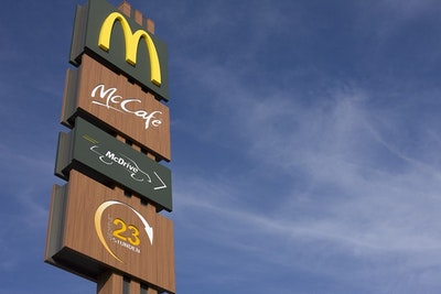 McDonald's Signs First Wind Energy Contract