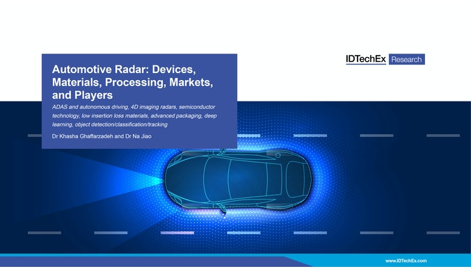 Automotive Radar: Devices, Materials, Processing, Markets, and Players