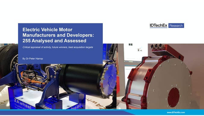 Electric Vehicle Motor Manufacturers and Developers: 255 Analysed and Assessed