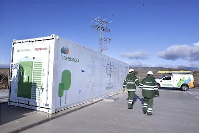 First Battery Storage System for Electricity Grids in Spain