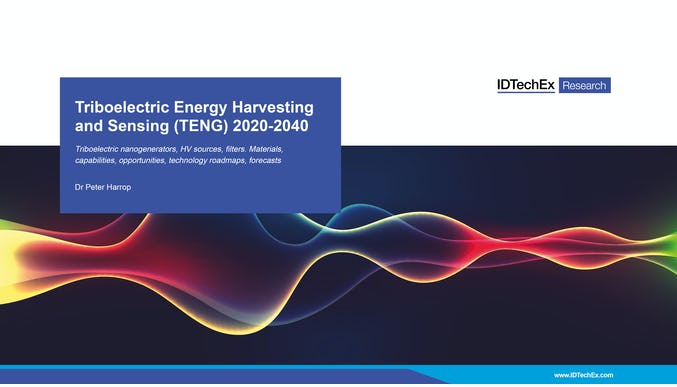 Triboelectric Energy Harvesting and Sensing (TENG) 2020-2040