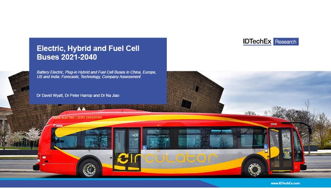 Electric, Hybrid and Fuel Cell Buses 2021-2040