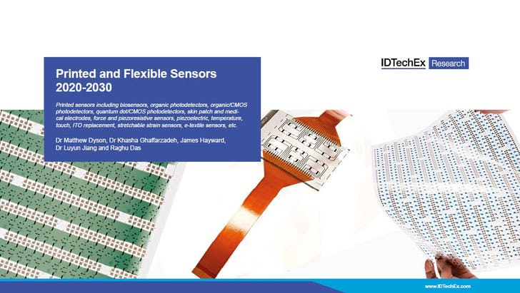 Printed and Flexible Sensors 2020-2030: Technologies, Players, Forecasts