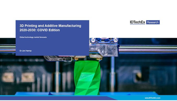 3D Printing and Additive Manufacturing 2020-2030: COVID Edition