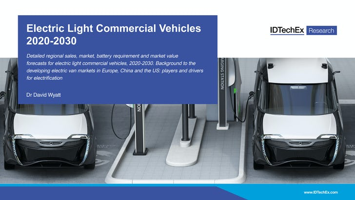 Electric Light Commercial Vehicles 2020-2030