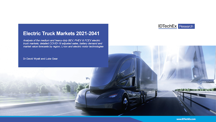 Electric Truck Markets 2021-2041