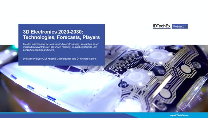 3D-Elektronik 2020-2030: Technologien, Prognosen, Akteure
