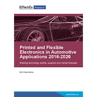 Printed and Flexible Electronics in Automotive Applications 2016-2026 - Electronic (1-5 users)