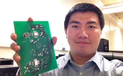 Engineer inspired by human brain to develop wearable micro-sensors