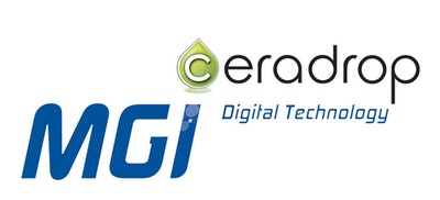 Ceradrop new product launch for printed electronics, 3D printing