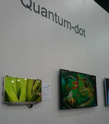 Quantum dots now showing their true colours