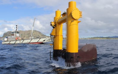 Wave generator supplies grid power in Hawaii