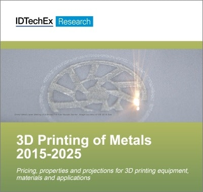Metal parts - the only way 3D printing can become productive