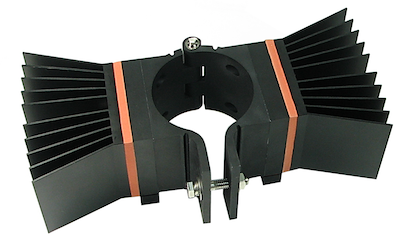 Theremoelectric generating power strap for oil and gas applications