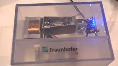 Fraunhofer IIS: Show Bluetooth Wristband at the IDTechEx Show!