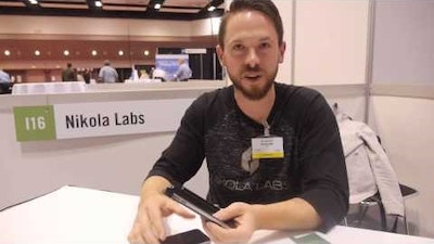Nikola Labs at IDTechEx Show! Cell Phone Case that Extends Battery
