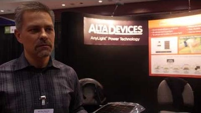 IDTechEx Interview Alta Devices: Solar Cells from Gallium Arsenide