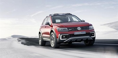New Tiguan GTE active concept