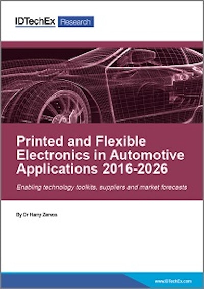 Printed and flexible electronics in vehicles: a $5.5bn opportunity