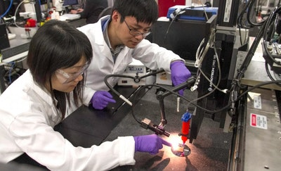 Researchers 3D print ultralight supercapacitors