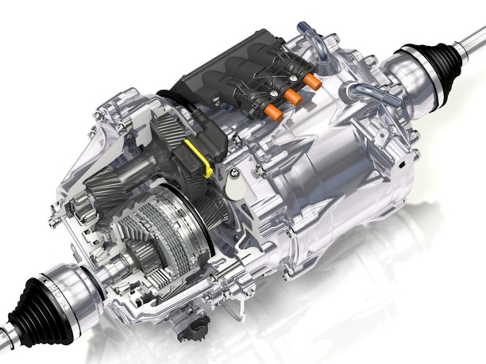 Automakers Are Test Driving A New Torque Vectoring Electric Drive System By Gkn Automotive That Will Make Hybrid Vehicles More Efficient And Dynamic