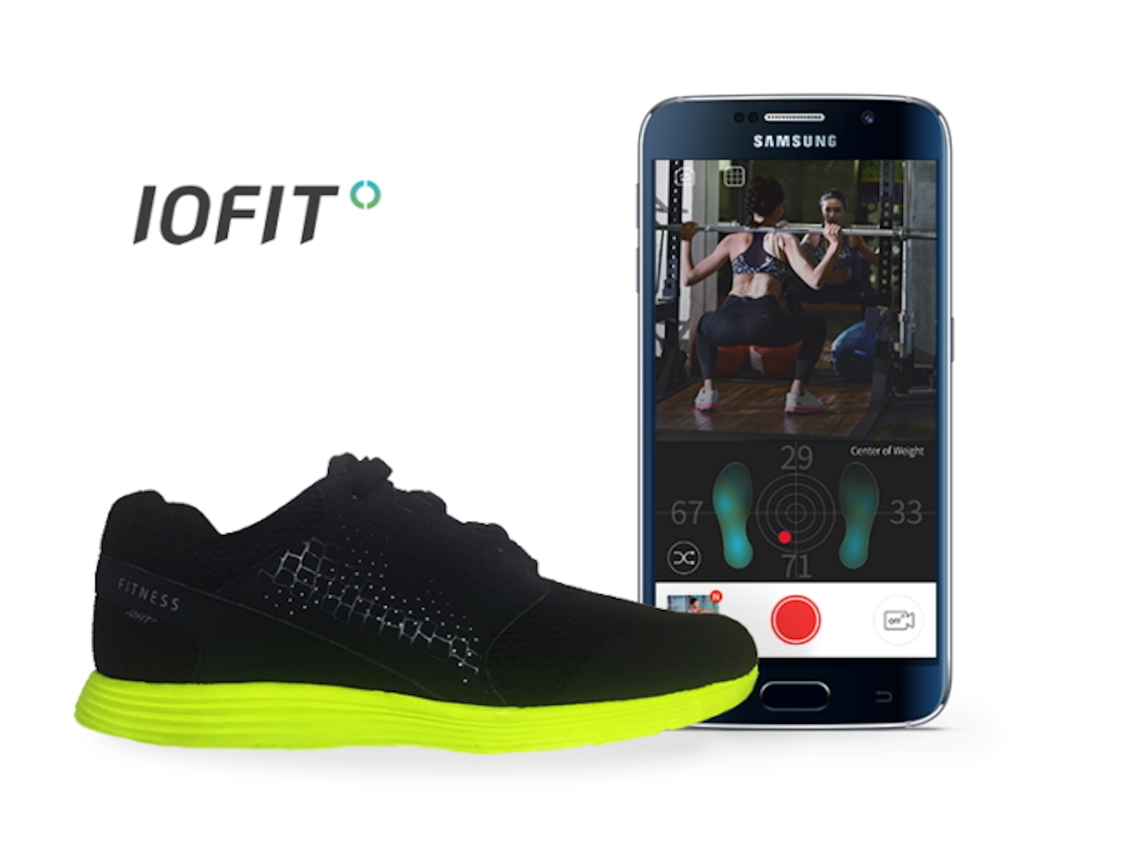 cc45161f7464 Samsung-backed IOFIT s smart shoes do more than track fitness ...