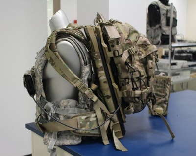 Energy harvester assault pack lightens soldier's load
