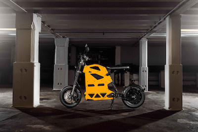 New e-bike and scooter with original design