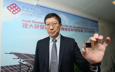 Perovskite-silicon tandem solar cells with highest power conversion