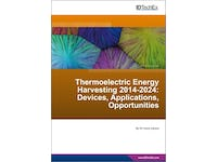 Thermoelectric energy harvester market to reach almost $1bn in 2024