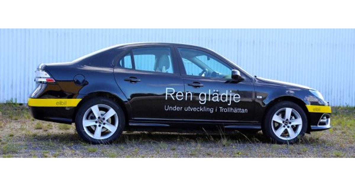 Nevs electric vehicle prototype series