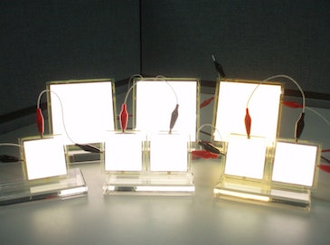 DoE grant accelerates OLED lighting for high-end commercial use