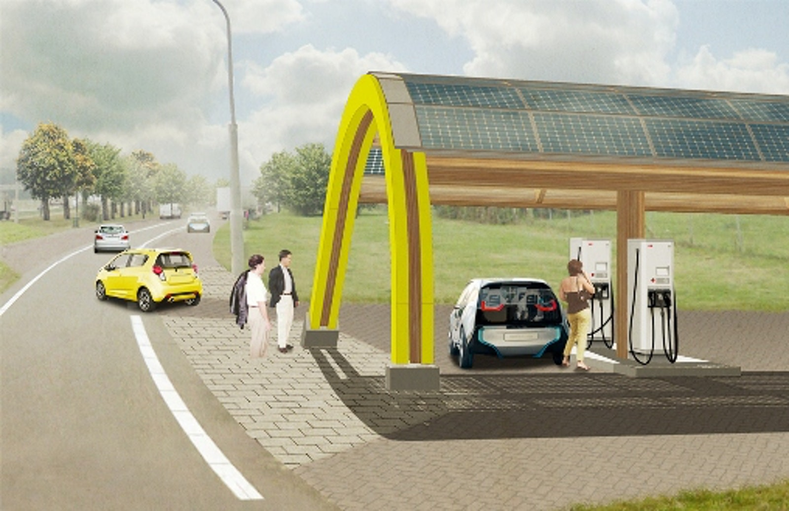 Abb Has Been Selected By Fastned To Supply Chargers More Than 200 Electric Vehicle Fast Charging Stations In The Netherlands Bringing An Ev Charger