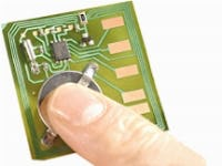 Printed electronics for active RFID and RTLS