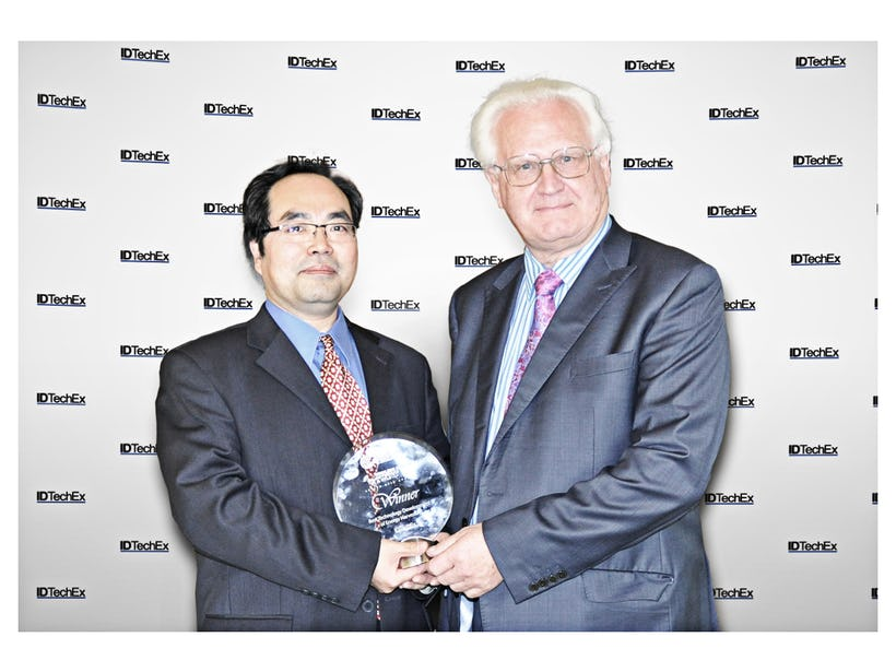 Winners of the IDTechEx Energy Harvesting and WSN Awards