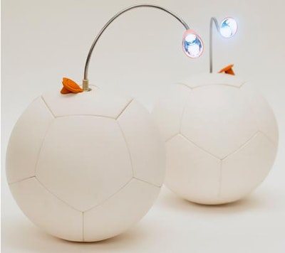 Energy harvesting soccer ball moves to the next level