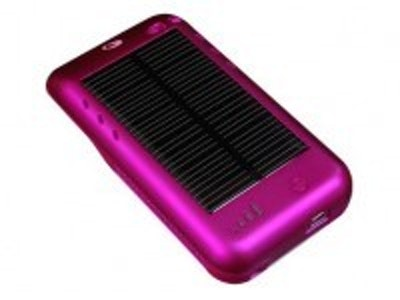 First Apple licensed solar charging case for iPod Touch